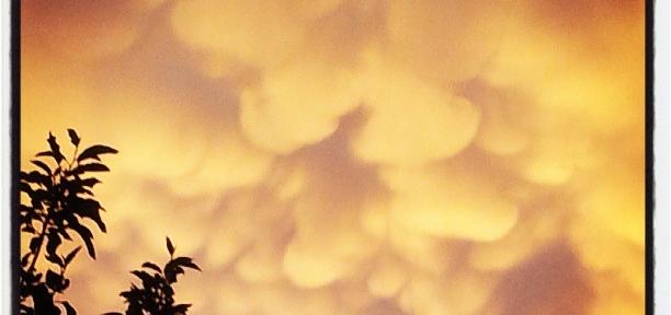 Предгрозовые облака