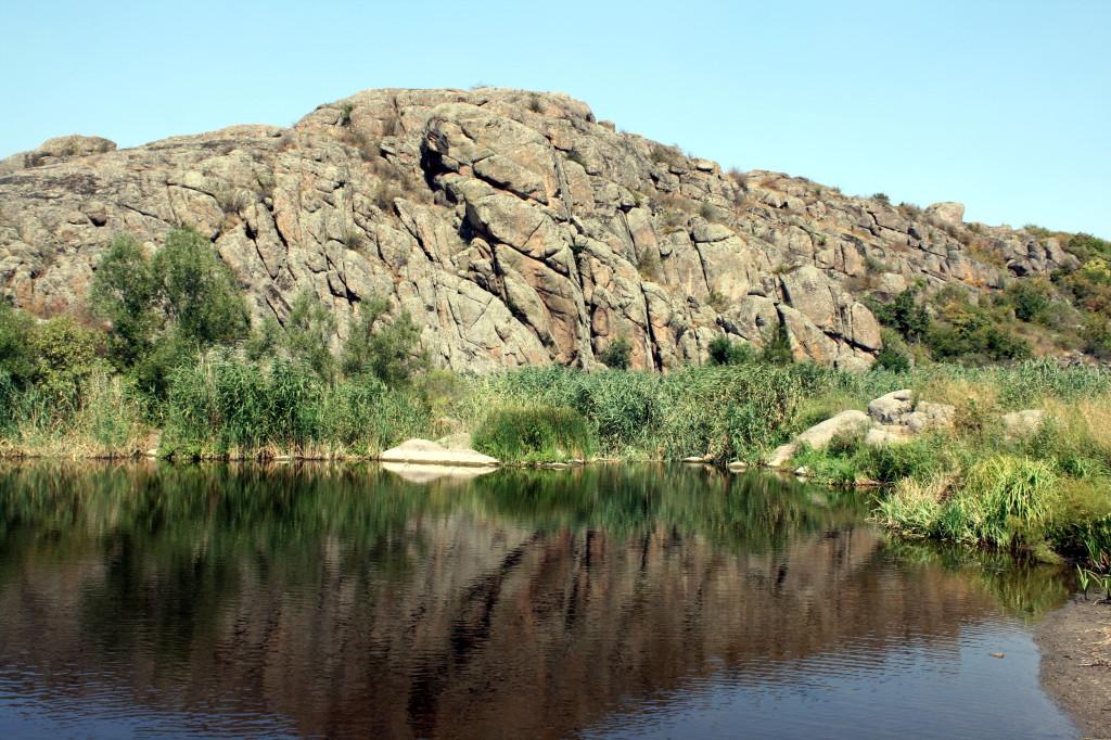 Актовский каньон в Николаевской области