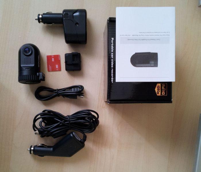 Видеорегистратор 0801 с GPS