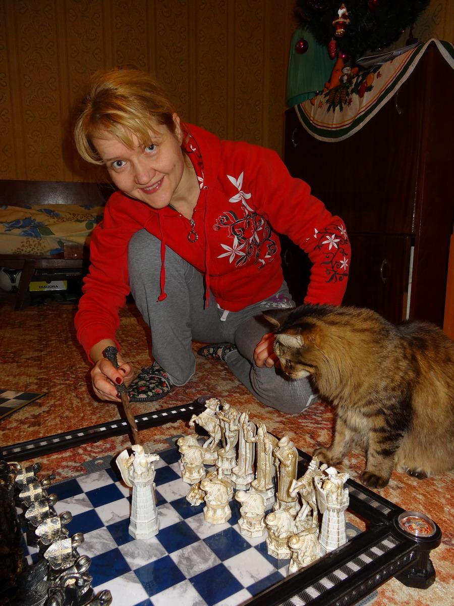 В шахматы с котом